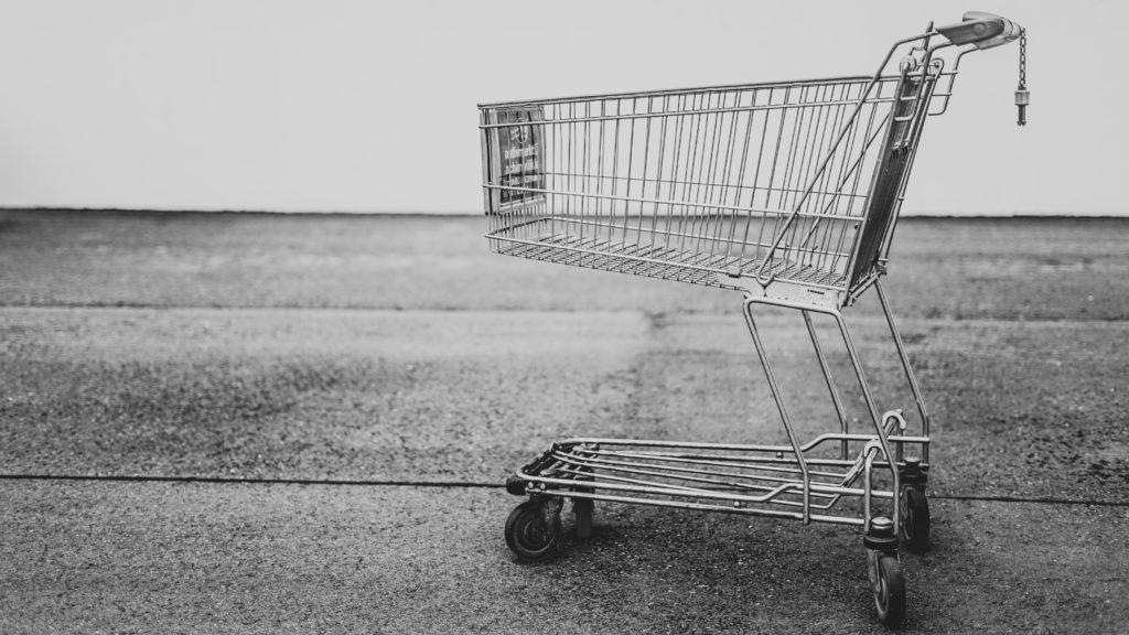 Horror im E-Commerce: Der leere Einkaufswagen