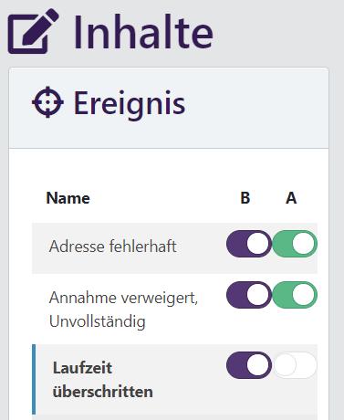 """""""Sorry""""-Nachrichten aktivieren"""