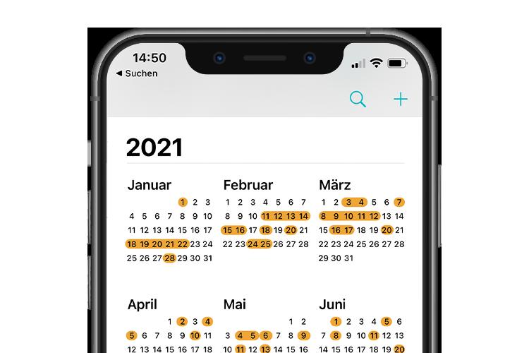 PAQATO E-Commerce Kalender
