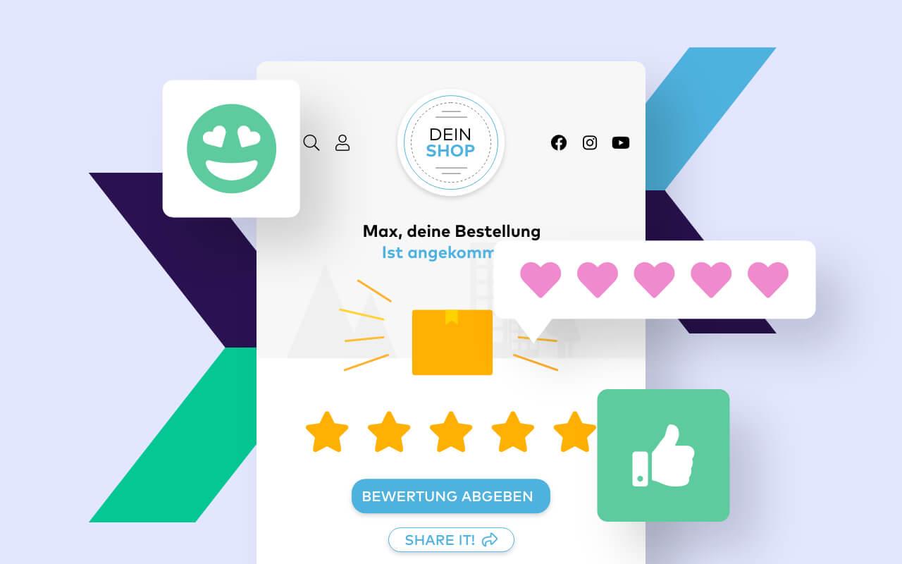 Mehr gute Bewertungen für deinen Onlineshop