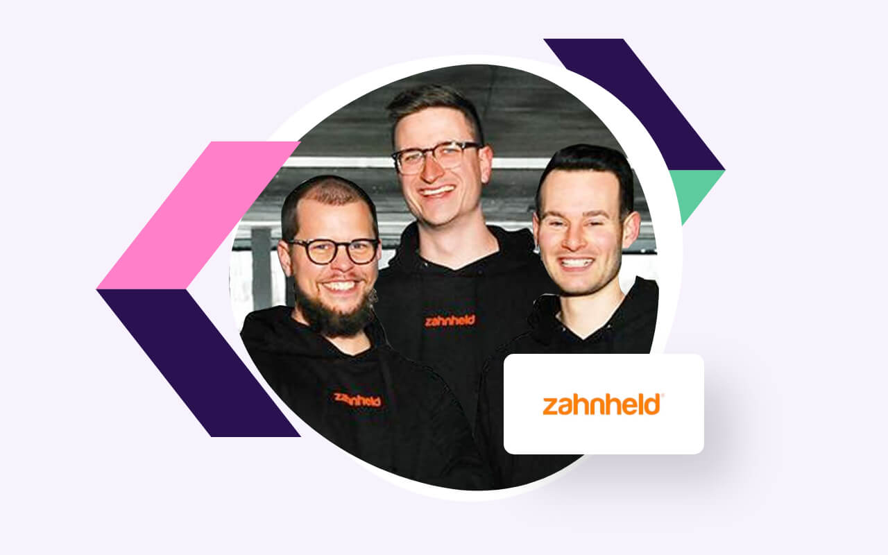 Moneymaker Fabian Bentz, CEO von Zahnheld