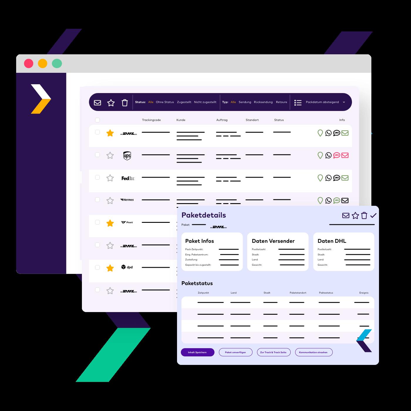 PAQATO macht unsichtbare Informationen auf der Paketreise für dich sichtbar. Läuft mal etwas mit der Zustellung durch den Versanddienstleister schief, kannst du deinen Kunden proaktiv informieren.