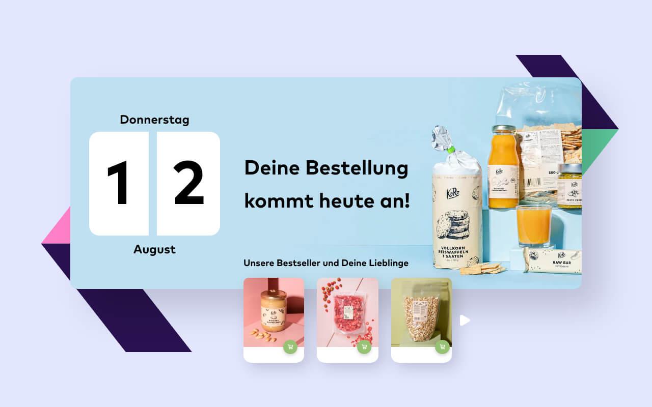 Vote, vote, vote! Jede Stimme zählt für unseren Best Retail Case KoRo!