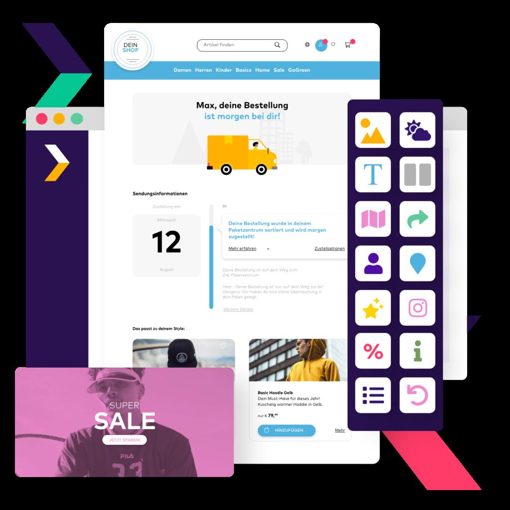 Up- und Cross-Selling Potentiale auf der Track and Trace Seite nutzen